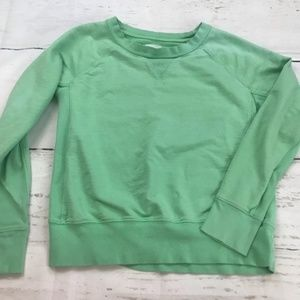 Gap crew neck minty green sweatshirt